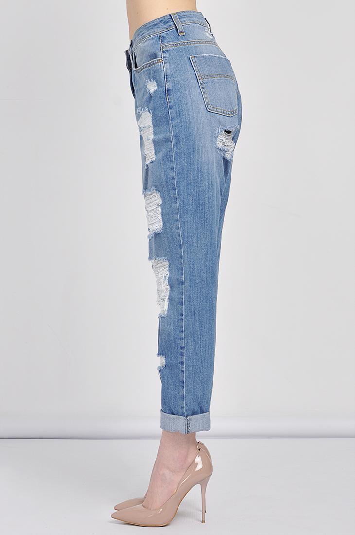 921e159206d Джинсы-бойфренды Elisabetta Franchi – купить джинсы в интернет-магазине  «X-ACT» (СПб)